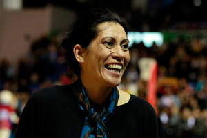 Magic's coach Noeline Taurua. Photo /  Natalie Slade