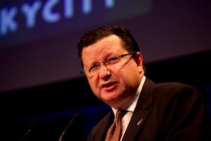 SkyCity Chief Executive Officer, Nigel Morrison. Photo / NZ Herald
