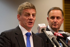 Key and English know that the fine detail of how Budget accounting works is not something which voters get overly fussed by. Photo / NZ Herald
