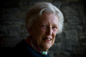 The late Margaret Mahy won the Junior Fiction Elsie Locke Award six times and is once again a featured finalist. Photo / Martin Hunter