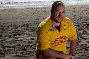Raglan lifeguard Kris O'Neill is angry at the planned job cuts. Photo / Sarah Ivey