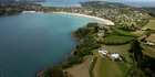Aerial shot of Waiheke Island. Photo / APN