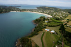Aerial shot of Waiheke Island. Photo / APN