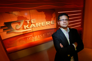 Shane Taurima, editor of Te Karere, TVNZ's Maori news bulletin, will make a bid for Labour's Ikaroa-Rawhiti byelection candidacy. Photo / Richard Robinson