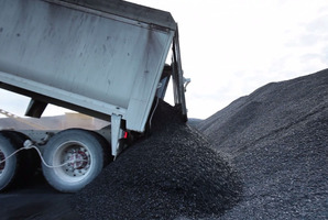 Bathurst is targeting high quality coal at Denniston.  Photo / NZPA