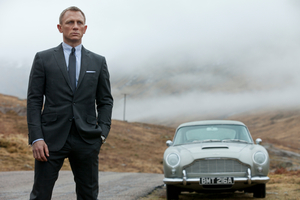 "A buyer at a UK auction now has a licence to ... restore a ""Bond"" Aston Martin, as seen in Skyfall."