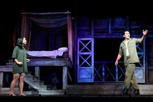 A scene from the Miss Saigon musical. Photo / NZPA