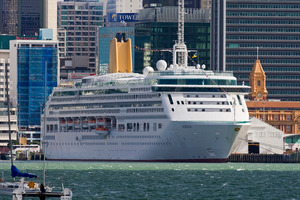When a cruise ship comes in there may be 300 people in an hour and some businesses struggled with that. Photo / NZPA