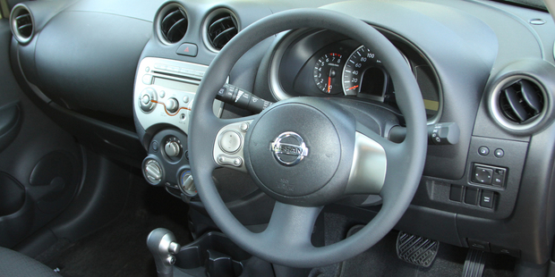 Nissan is recalling 841,000 of its Micra and Cube models over a steering wheel glitch. Photo / Bay of Plenty Times