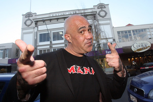Te Hamua Nikora is the MANA Party Candidate for Ikaroa Rawhiti. Photo / Lynda Feringa