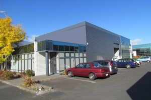 This East Tamaki warehouse, showroom and office brought $643,000. Photo / Supplied