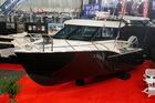 The 7.5m Dickey Custom 750 attracted a lot of attention at the boat show.  Photo / Supplied