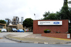 The logo of Ford Motor Co. is displayed outside the company's Geelong Casting Plant in Geelong, Australia. Photo / Supplied