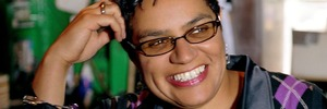Scottish poet-writer Jackie Kay. Photo / Supplied