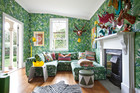 Alex Fulton's colourful Blenheim home. Photo / Your Home and Garden