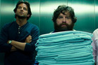 Hangover buddies, from left, Bradley Cooper, Zach Galifianakis and Ed Helms. Photo / Supplied