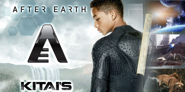 After Earth: Kitai's Journal. Photo / Supplied