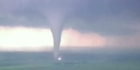 Watch: Tornado carves path of destruction 