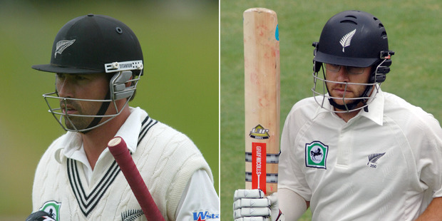 Stephen Fleming (left) and Daniel Vettori. Composite photo / Getty Images