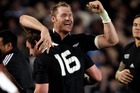 Ali Williams ends his test career having played 78 matches for the All blacks. Photo / Sarah Ivey