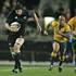 Williams on the burst against Australia, during their Tri Nations & Bledisloe Cup decider in 2005. Photo / Brett Phibbs