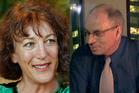 Sally Synnott and Roger Apperley. Photos / Brett Phibbs