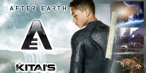 Loading New movie After Earth, starring Jaden Smith and father Will, has been turned into an iPad app by Kiwi-born firm BeyondTheStory. Photo / AP