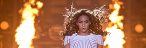 Beyonce performs on stage during her Mrs. Carter Show World Tour 2013. Photo/AP