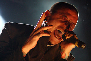 Chester Bennington has joined Stone Temple Pilots. Photo/NZPA