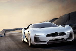 Citroen's GT concept car. Photo / Supplied