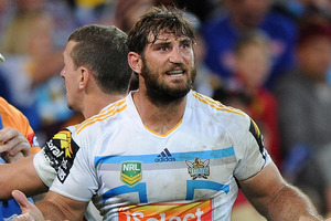 David Taylor of the Gold Coast Titans. Photo / Getty Images