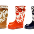 Karen Walker's new Ponsonby Rd store opens this Saturday with these brilliant bleeding rose print gumboots ($75) exclusive to the store for opening day. Ph (09) 361 6723. Photo / Supplied
