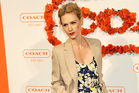 January Jones keeps mum on her baby's father