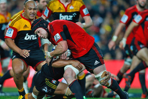 The last time the Crusaders won in Hamilton (28-21) was in round robin play last season. Photo . Getty Images
