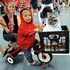 Lucas Purdy, 1, and Peke the pug won first place in one of the costume contests at Milwaukee Pug Fest in Franklin, Wisconsin. Photo / AP