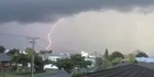 Watch: Lightning strike: Herald reader video