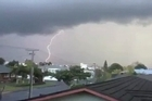 Lightning strike: Herald reader video