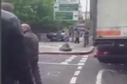 Two men 'shot by armed police after hacking a soldier to death with machetes in a busy London street. Police treating the incident as a terror attack. Courtesy: YouTube/MrCRAT345
