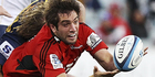 Sam Whitelock was skilful and increasingly ruthless against the Blues. Photo / Getty Images