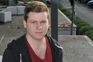 Student Matthew Schep transferred to the University of Otago from the University of Canterbury in 2011. Photo / Craig Baxter