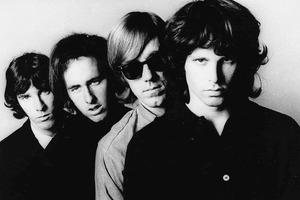 The Doors were, from left, John Densmore, Robby Krieger, Ray Manzarek and Jim Morrison. Photo / AP