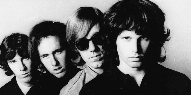 Ray Manzarek, second from right, and The Doors. Photo/AP