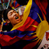 An exiled Tibetan holds a flag during a protest at a local neighborhood after they were stopped near the venue where Chinese Premier Li Keqiang was attending a meeting, in New Delhi, India. Photo / AP