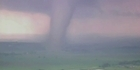 Watch: Raw: Time-lapse of killer tornado