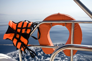 A new tracking tag can keep track of lifejackets among other things. Photo / Thinkstock