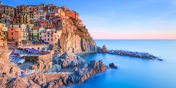 Manarola village, Cinque Terre. Photo / Thinkstock