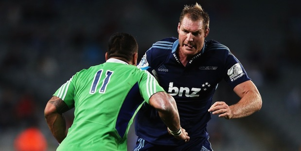 The Blues and Highlanders clash in Dunedin tonight. Photo / Getty Images