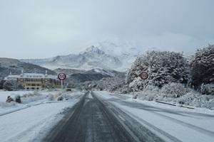 Snow at Chateau Whakapapa. Photo / Supplied