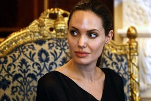 Angelina Jolie's aunt passed away after a long battle with breast cancer . Photo / AFP