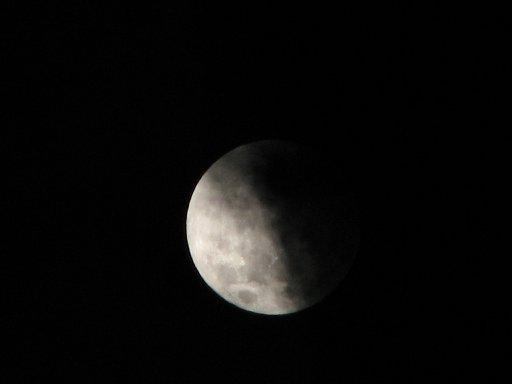 Alisha Taylor captured this image of a full moon.